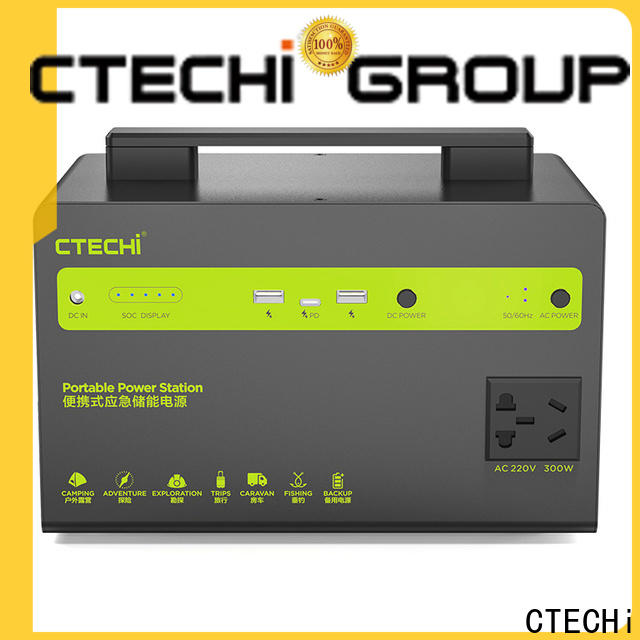 CTECHi lithium ion power station manufacturer for household