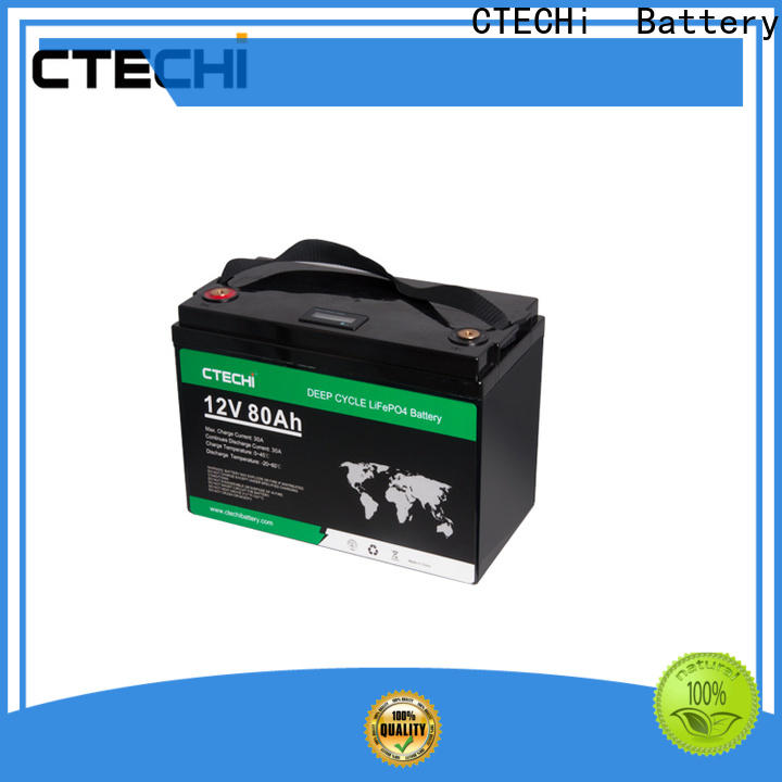 CTECHi durable lifep04 battery pack customized for E-Sweeper