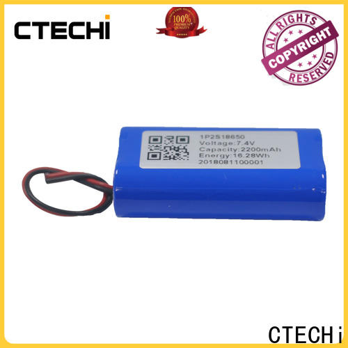CTECHi rechargeable battery pack series for camera