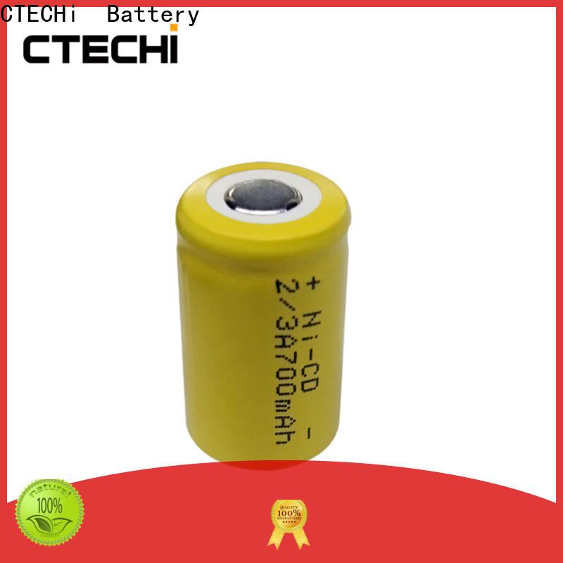 wide temperature range ni cd battery price manufacturer for emergency lighting