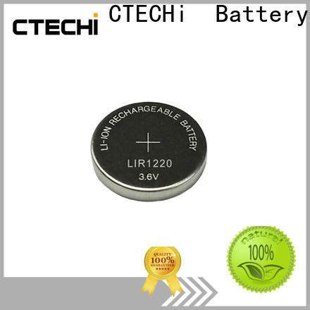 digital rechargeable coin cell design for watch