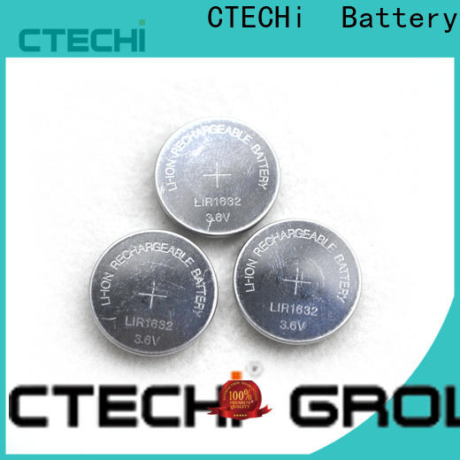 small rechargeable coin batteries manufacturer for calculator