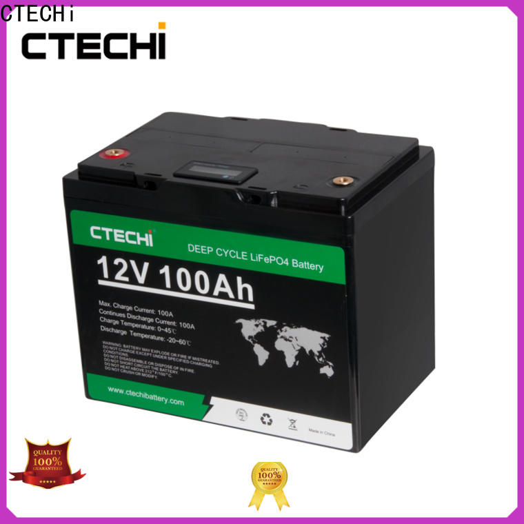 CTECHi professional lifepo4 battery case factory for E-Sweeper