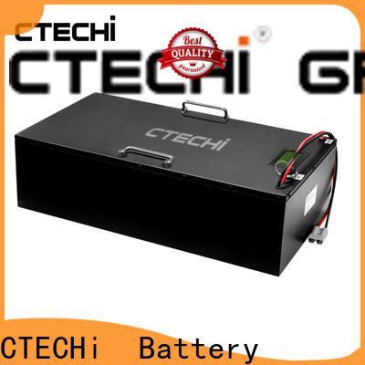 CTECHi 12v emergency battery pack customized for golf cart