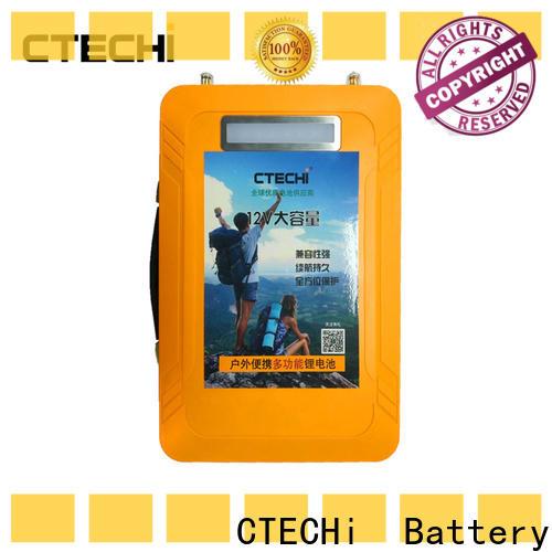 CTECHi lifepo4 battery uk customized for RV