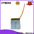 CTECHi lithium polymer battery 12v supplier for smartphone