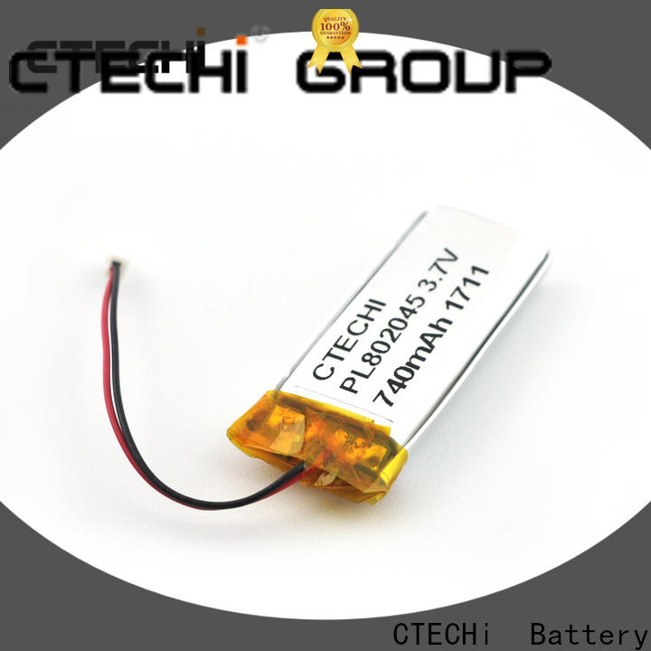 CTECHi polymer battery supplier for electronics device