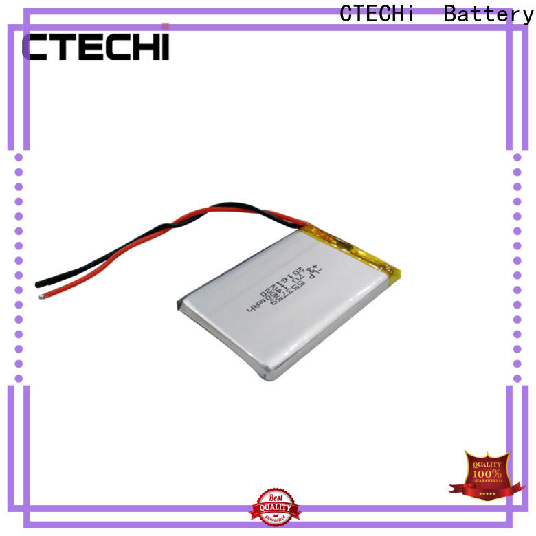 CTECHi lithium polymer battery charger personalized for