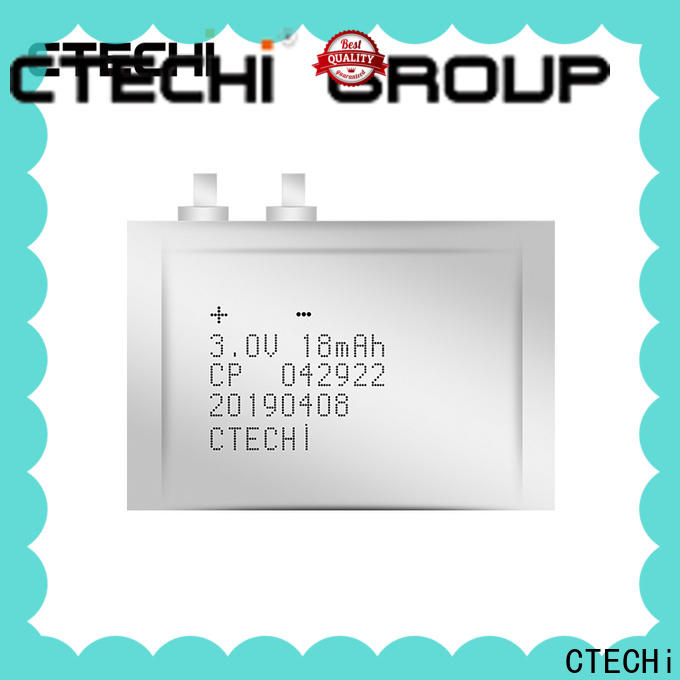 CTECHi ultra-thin battery series for manufacture