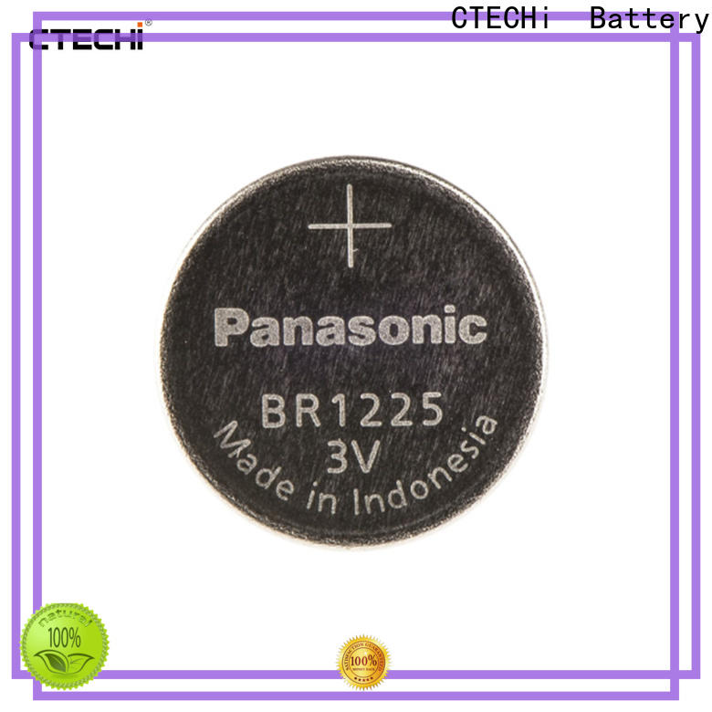 CTECHi durable panasonic lithium batteries customized for flashlight