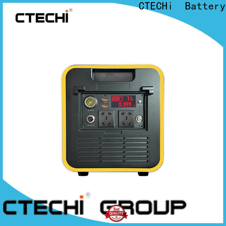 CTECHi portable solar power station manufacturer for commercial