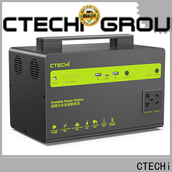 CTECHi certificated battery power station customized for outdoor