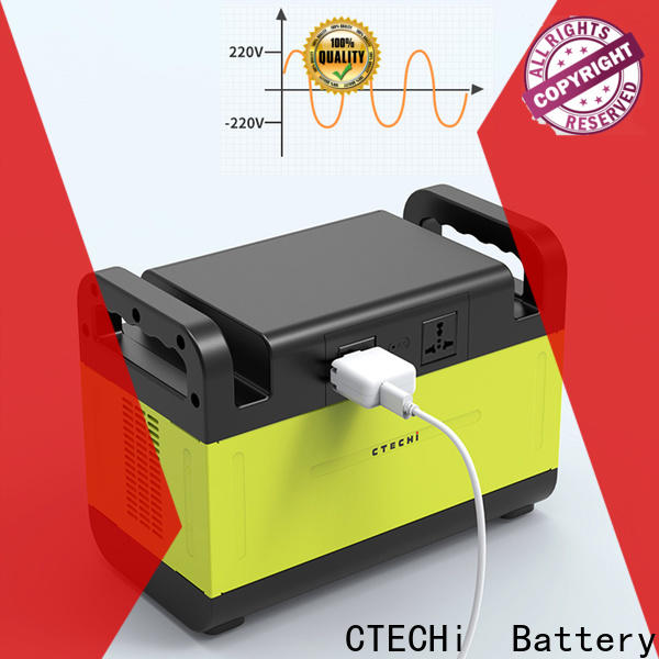 CTECHi certificated lithium portable power station factory for outdoor