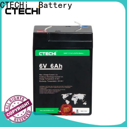 CTECHi lifep04 battery pack supplier for RV