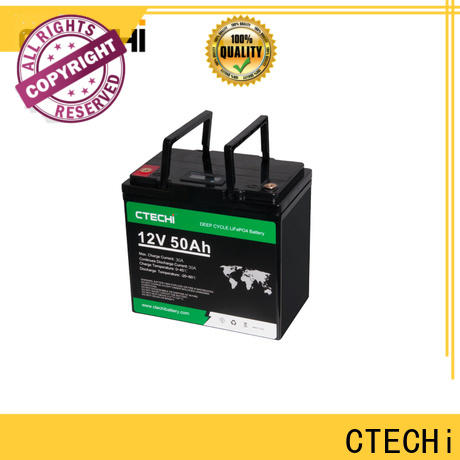 CTECHi lifepo4 power pack manufacturer for AGV