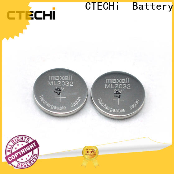 CTECHi rechargeable button batteries factory for car key