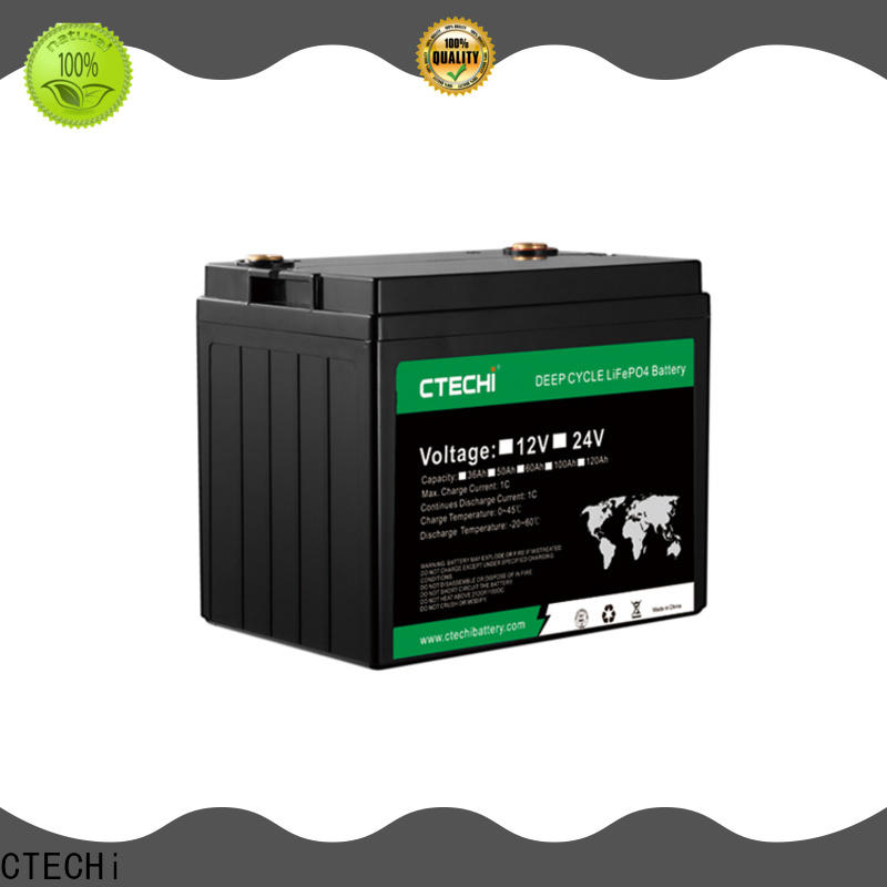 professional lifep04 battery pack supplier for RV