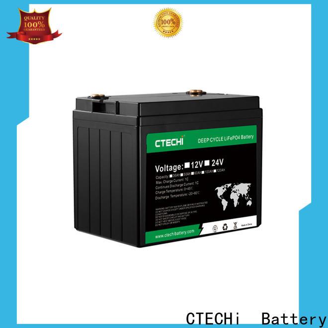 CTECHi lifep04 battery pack manufacturer for E-Forklift
