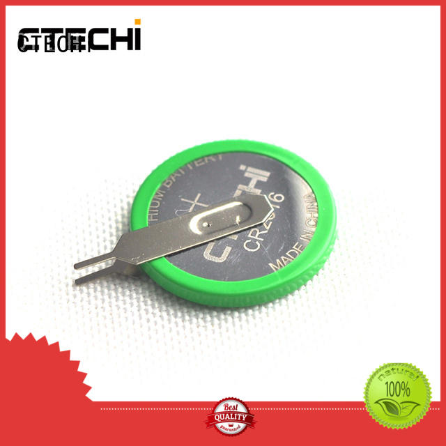 CTECHi miniature lithium coin cell battery customized for computer