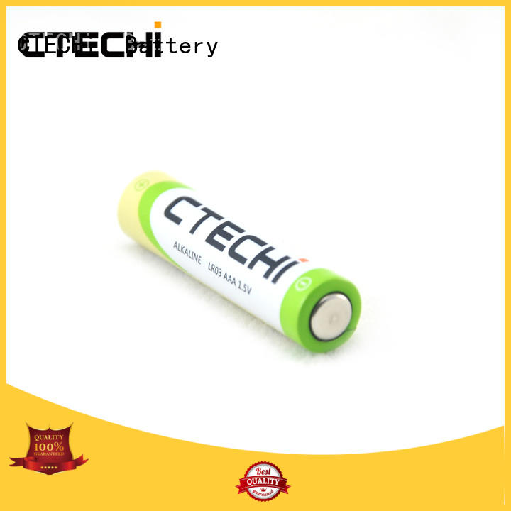 dry recharge alkaline batteries design for electric toys CTECHi