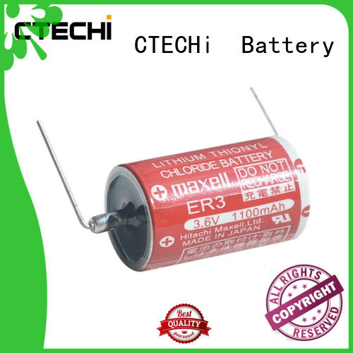 CTECHi maxell lithium battery customized for electric meter