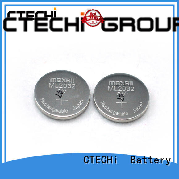 CTECHi charging rechargeable coin cell manufacturer for household