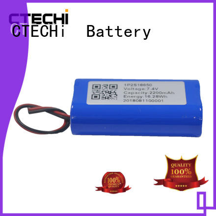 customize lithium battery pack 7.4V 2200mAh