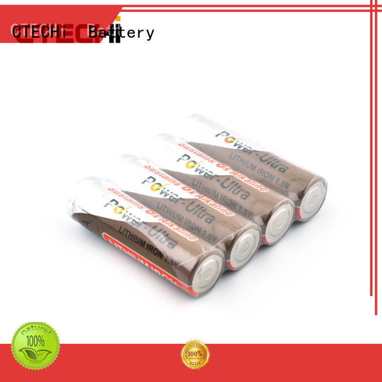 CTECHi high capacity li-fes2 battery wholesale for handheld devices