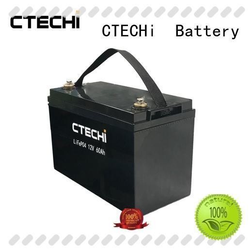 CTECHi 60ah high power battery pack manufacturer for golf cart