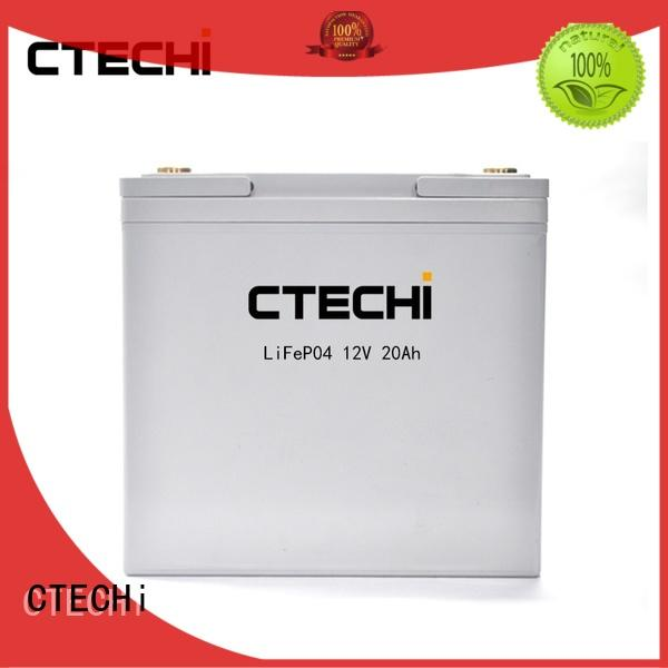 rechargeable lithium ion rechargeable battery pack customized for golf cart CTECHi