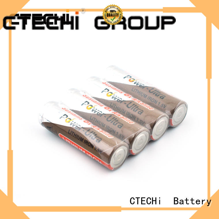 lithium ion aa battery high capacity for handheld devices CTECHi