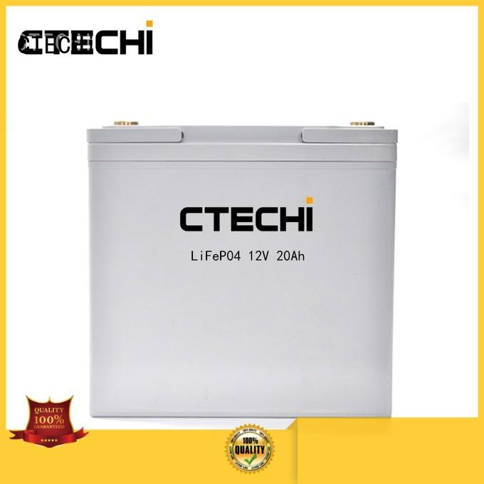 rechargeable electric battery pack customized for backup power CTECHi