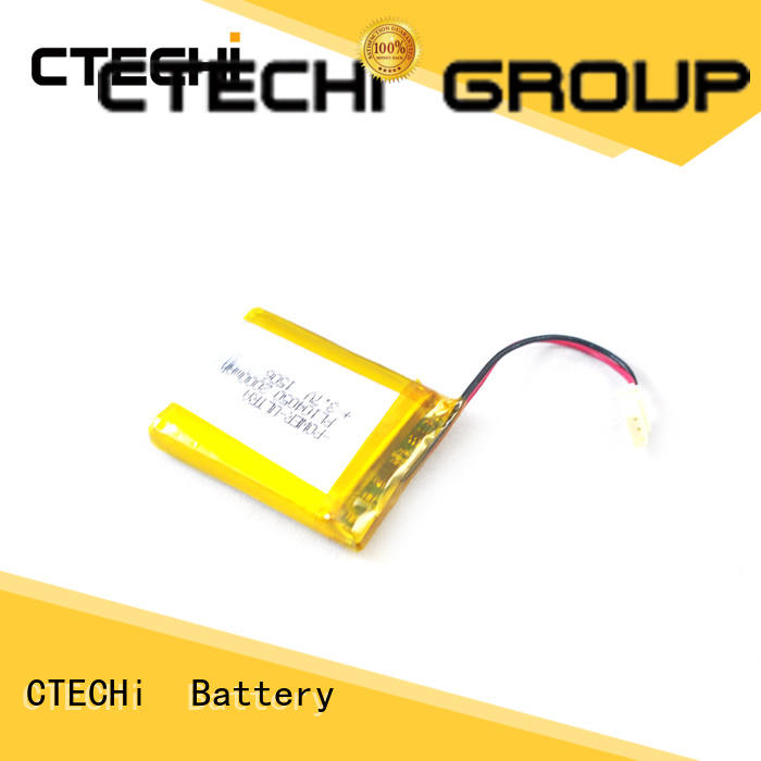 CTECHi digital lithium polymer battery series for