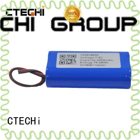 CTECHi 2200mah li ion battery pack design for camera