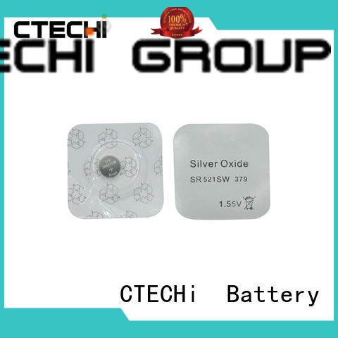 CTECHi high quality button watch battery factory for hearing aid