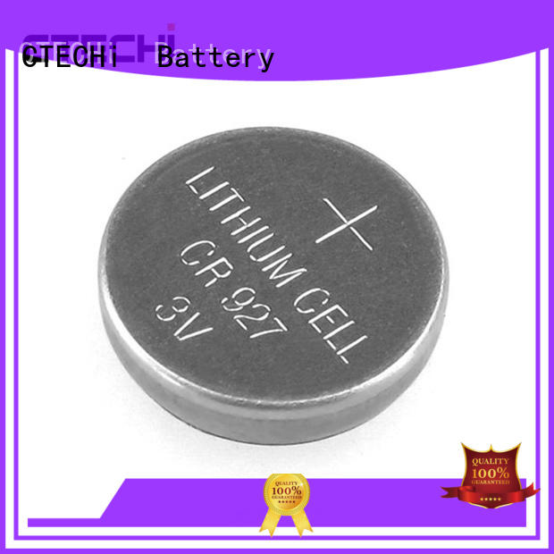 miniature lithium button battery CR927 3V