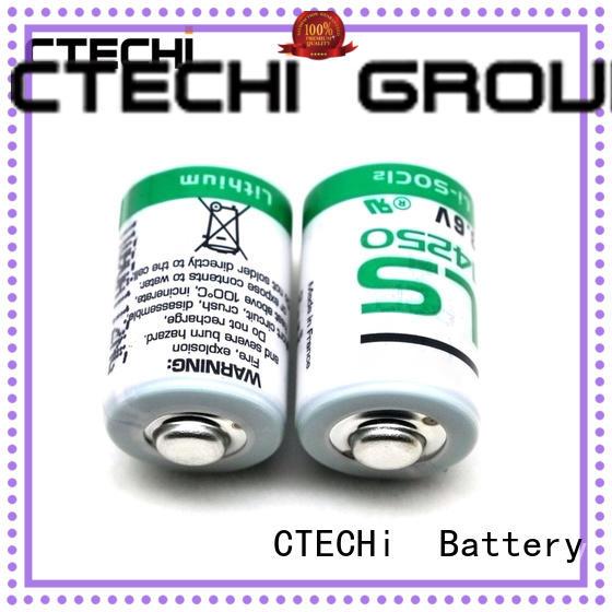 high capacity saft lithium batterie manufacturer for aerospace CTECHi
