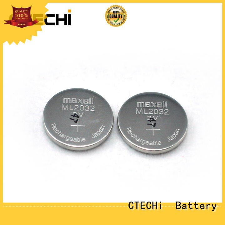 rechargeable button batteries component for calculator CTECHi