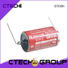 not rechargeable battery solder tab for electric meter CTECHi