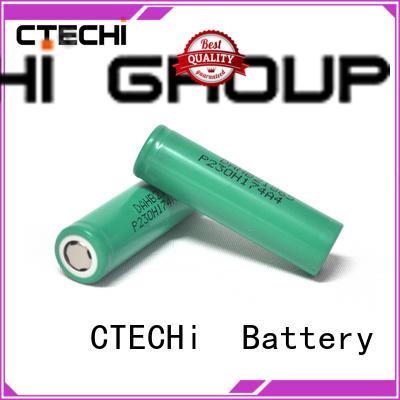 3.7v lg lithium ion battery 18650 manufacturer for UAV CTECHi