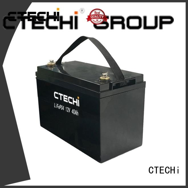 CTECHi 40ah lithium battery pack customized for energy storage