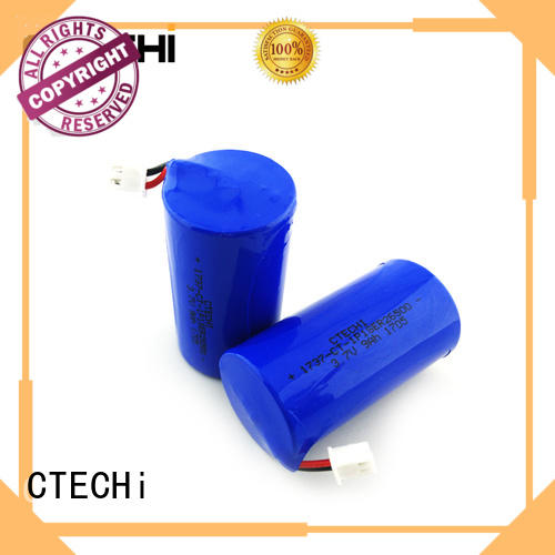 small lithium ion battery system for electronic products CTECHi