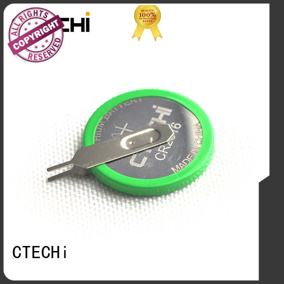 CTECHi electric button coin cell battery customized for computer