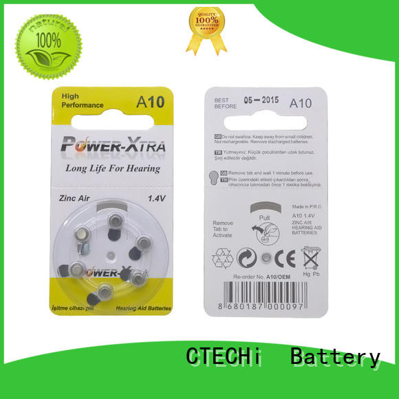 high power zinc air battery design for remote key