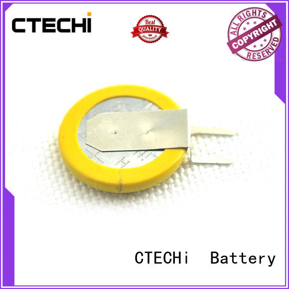 digital coin cell battery personalized for instrument