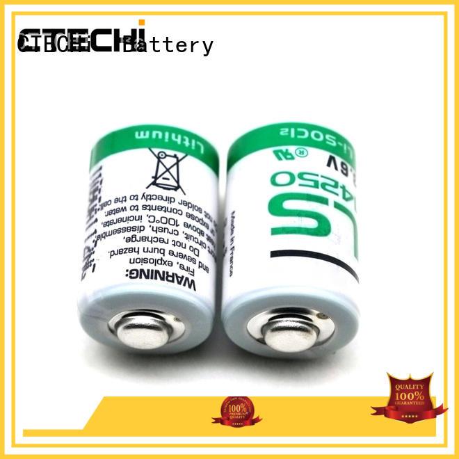 lithium battery SAFT LS14250 3.6V 1200mAh