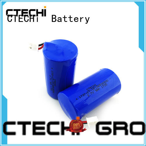 CTECHi cylindrical 3.7 lithium ion battery manufacturer for digital products