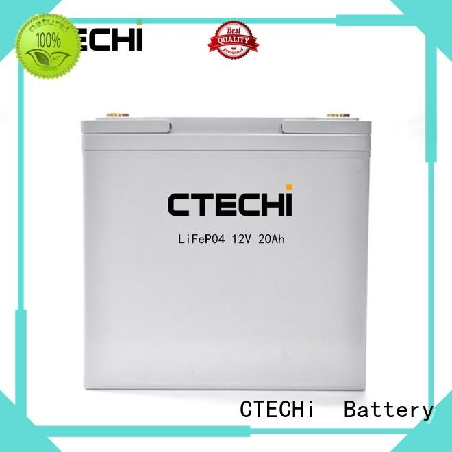 CTECHi multifunctional lifepo4 battery pack manufacturer for backup power