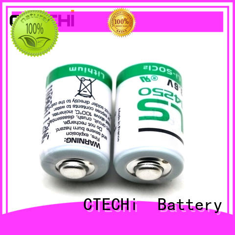 CTECHi high capacity saft lithium ion battery customized for aerospace