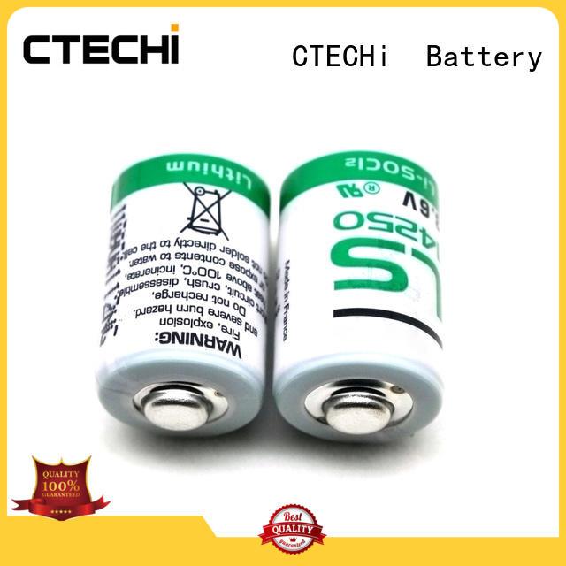CTECHi saft batteries customized for aerospace